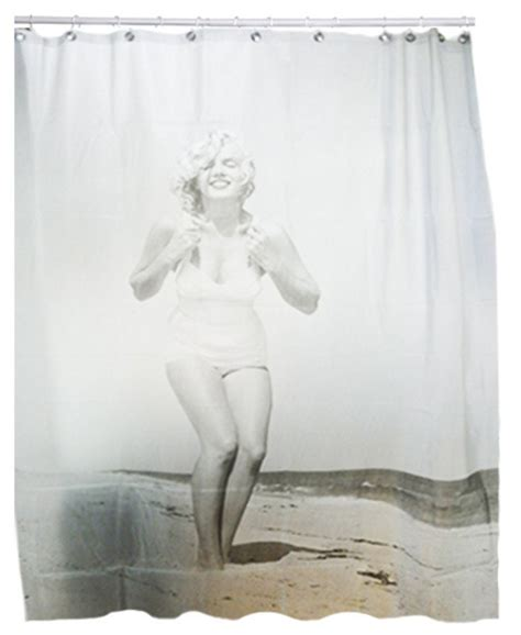 marilyn monroe window curtains new sexy marilyn monroe beach decorative bathroom shower