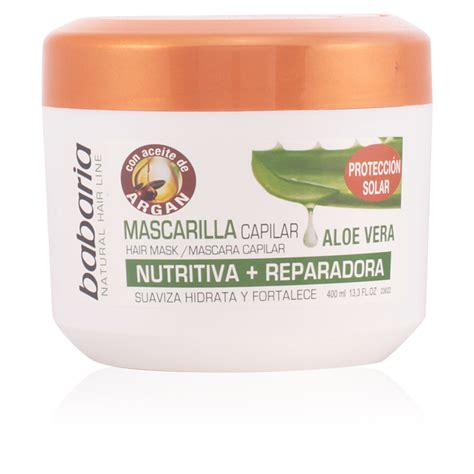 Natur Hair Mask Aloe Vera 15ml babaria hair aloe vera mask capilar reparadora products perfume s club