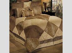 Safari Patch 8 pc Comforter Bed Set B