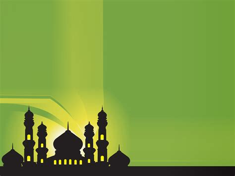 background hijau islami silhouette of mosques islamic background jpg jama ah