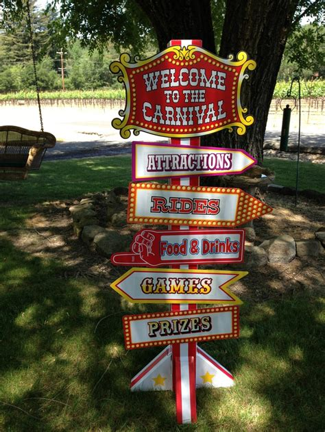 carnival themed names carnival circus theme name tags would be tickets red and