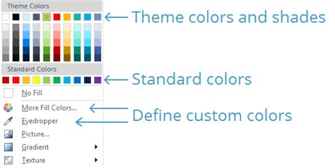the themes gallery is located on the ribbon tab working with theme colors e learning heroes