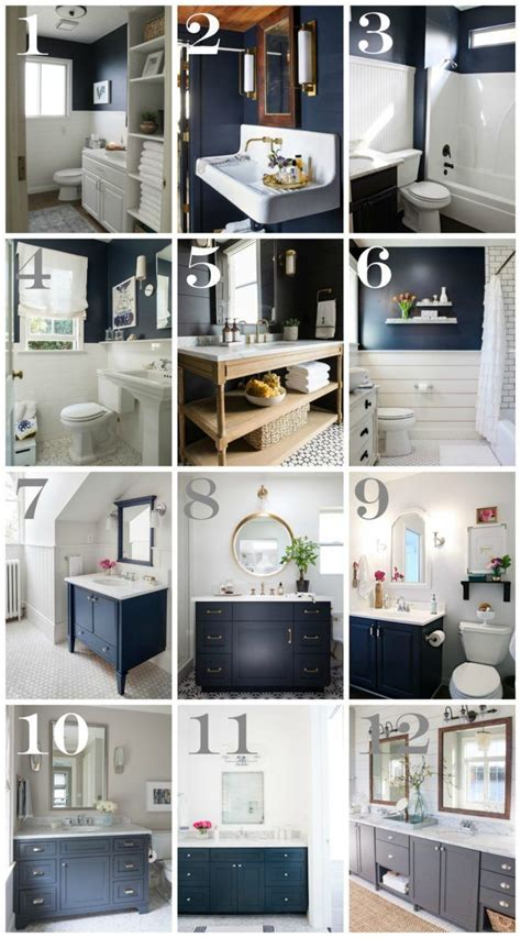Decorating Ideas For Bathroom Walls by 25 Best Ideas About Navy Bathroom On Navy