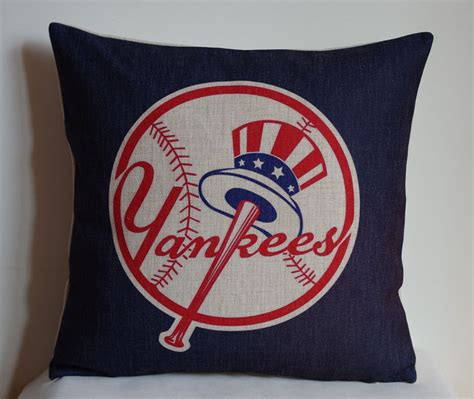 new york yankees pillow cover decor pillow by decorpillowstore