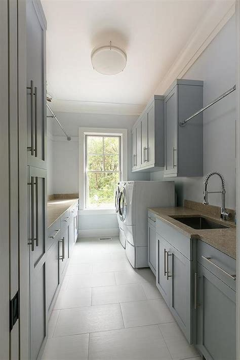 Creative And Inspiring Laundry Rooms Gray Laundry