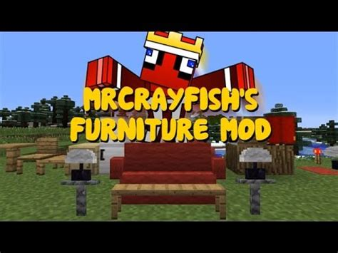 minecraft  mrcrayfishs furniture mod installation tutorial