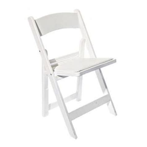 White Chairs For Hire by White Padded Folding Chairs Perry S Hire