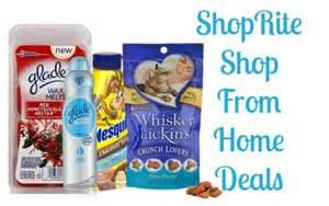 shoprite from home deals money makers on glade nestle