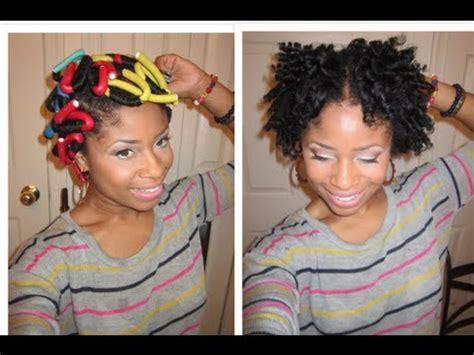 rod set short hair for black women how to do a flexi rod set on short natural hair flexi