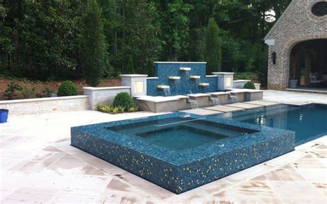 geometric pools geometric watercolors custom pools