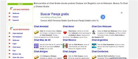 salas de chat sin registro gratis webcam chat gratis taringa