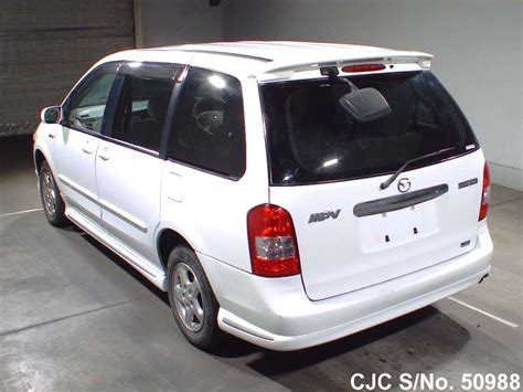 2001 mazda mpv white for sale stock no 50988 japanese used cars exporter