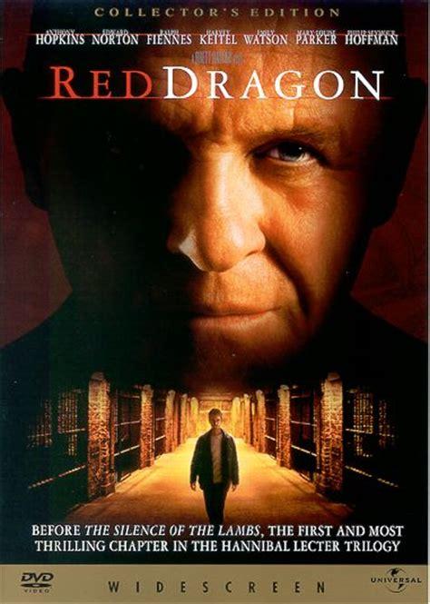 dvd red dragon mark  headricks website