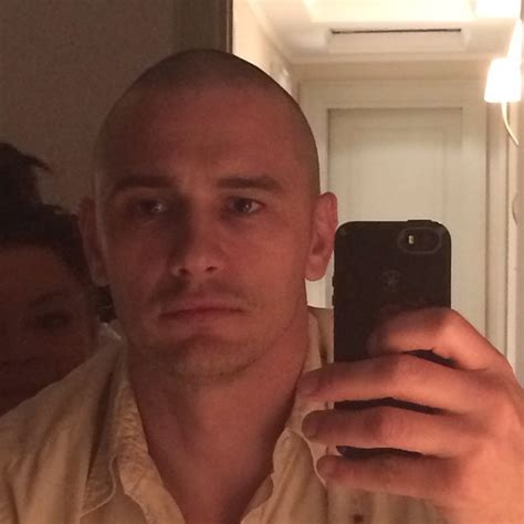 james franco is bald and beautiful oh no they didn t