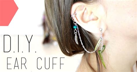 tutoriel d i y ear cuff bague d oreille diy do