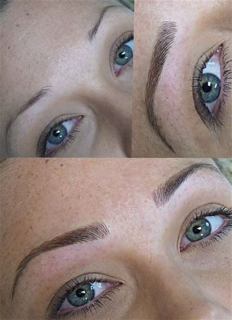 tattoo eyebrows makeup naturalines permanent makeup brow gallery ta fl