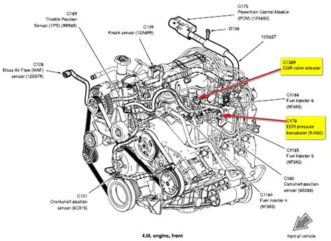 ford egr diagram free wiring diagrams schematics