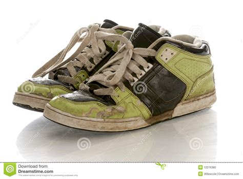 when are running shoes worn out worn out running shoes stock photo image 12276380