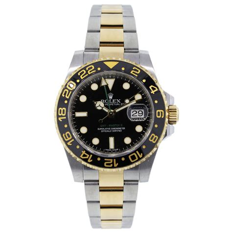 Rolex Gmt Master Ii As rolex 116713 gmt master ii two tone black