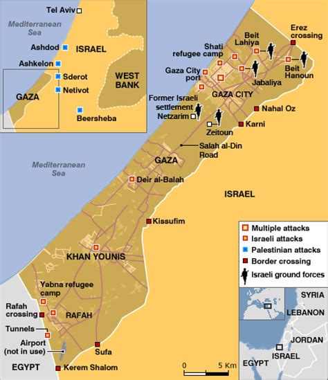 middle east map gaza news middle east map gaza offensive week two