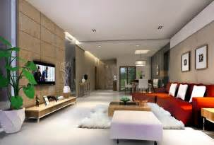 Living Room Interior Design by Simple Ceiling Living Room Villa Interior Design 3d 3d