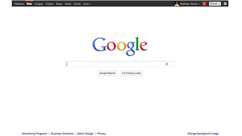 design google front page google s new home page pushes you to plus gizmodo australia