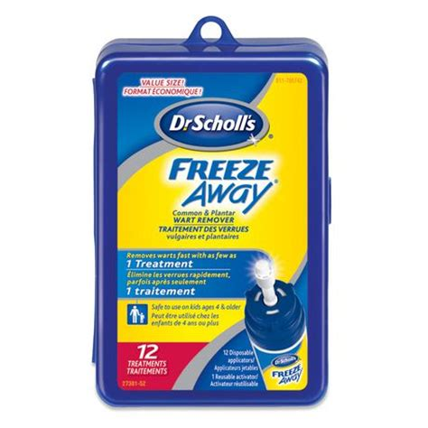 Planters Wart Freeze by Dr Scholl S 174 Freeze Away 174 Common And Plantar Wart Remover