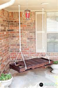 Diy Backyard Swing by 8 Cool Diy Outdoor Swings Shelterness