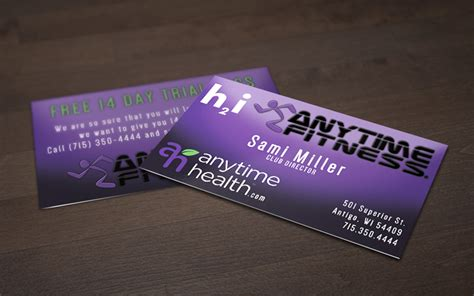 Fitness Business Card Template by Fitness Business Cards Kvantita Info