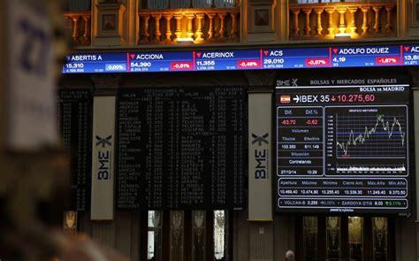 banco santander bolsa de madrid el ibex 35 sufre su mayor ca 237 da desde 2012 arrastrado por