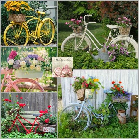 Front Garden Decor 25 Best Ideas About Bike Planter On Pinterest Bikes Garden And Bicycle Decor