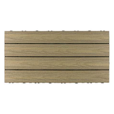 backyard tiles home depot newtechwood ultrashield naturale 1 ft x 1 ft quick deck