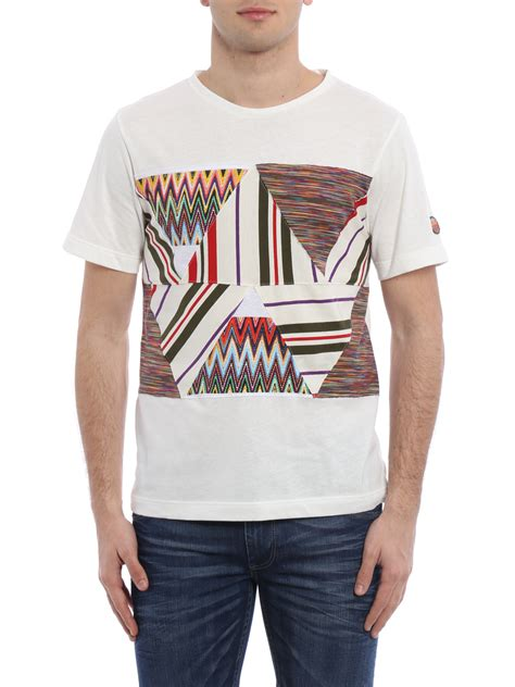 Patchwork T Shirt patchwork by missoni t shirts ikrix