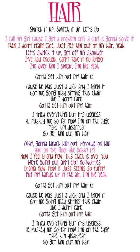 hair of the lyrics mix lyrics www pixshark images galleries with a bite