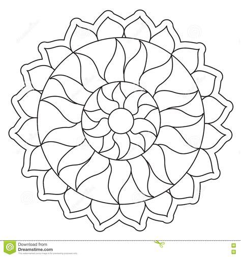 Kreditkarten Design Vorlagen f 228 rbende einfache sun mandala vektor abbildung bild