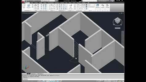 Autocad 3d House Modeling Tutorial 1 3d Home Design Autocad For Home Design