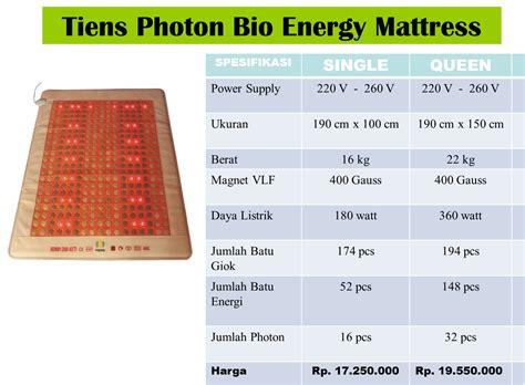 Matras Karakter Kesehatan Tiens 16 jual produk tiens jual produk tiens photon bio energy matress matras giok tianshi