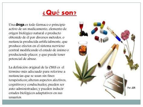 las drogas en la las drogas y sus derivados
