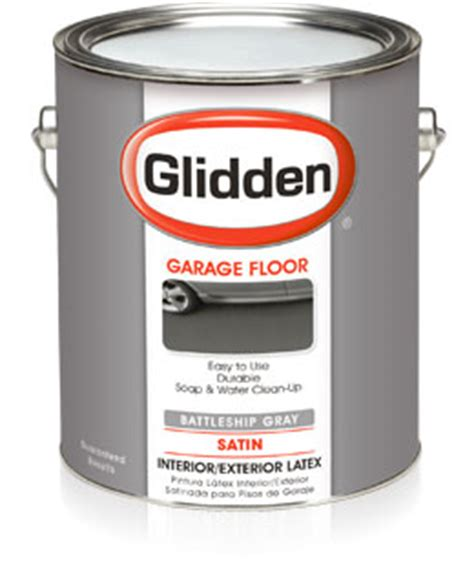 specialty house paint glidden 174 garage floor paint