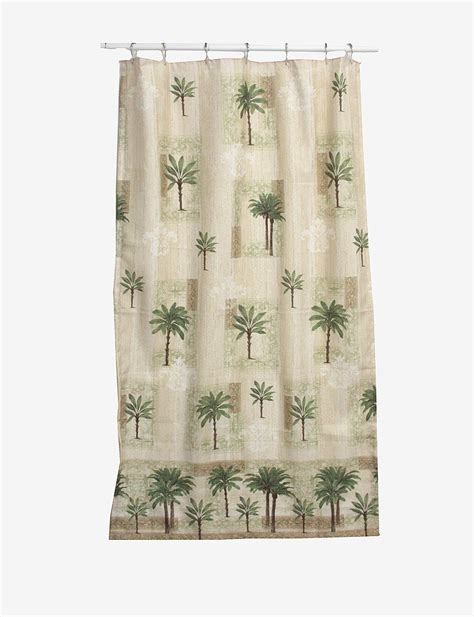 bacova shower curtains bacova guild citrus palm shower curtain stage stores