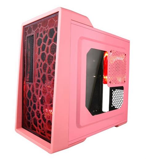 Sale Cube Gaming Oxir Psu 500w apevia x enerq pk 500 pink atx mid tower with window