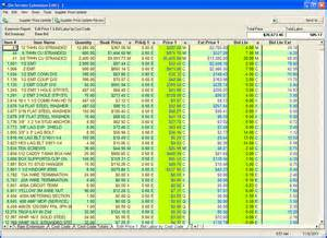 Electrical Price List Template Electrical Estimating Software For The Small Contractor
