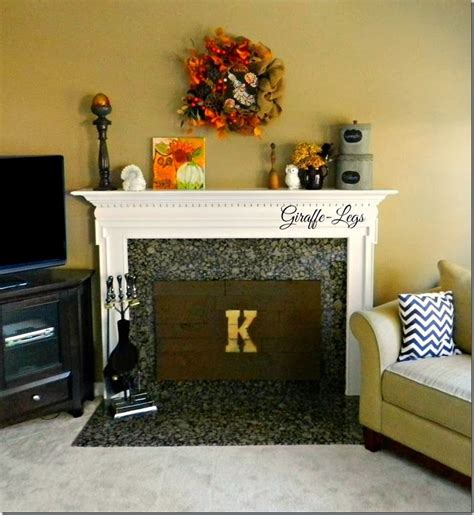diy insulated fireplace cover home fireplace cover