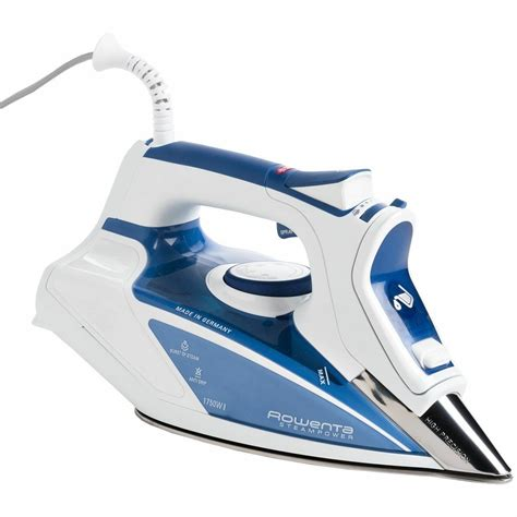 rowenta steam power dw9250 1750 watt with anti calc auto steam iron ebay