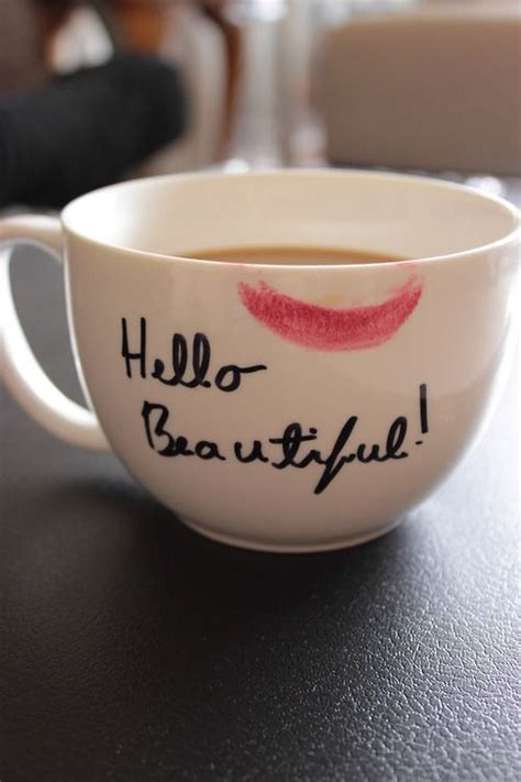 beautiful coffee cups beautiful coffee cup happy hello kiss lips lip