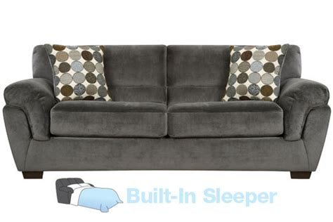 microfiber queen sleeper sofa rhino microfiber queen sleeper sofa at gardner white