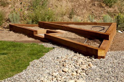 Landscape Timbers Colorado Landscaping In Durango Colorado Raised Beds Gardening