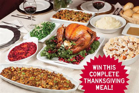 Thanksgiving Dinner Giveaway - complete thanksgiving meal 100 images thanksgiving dinner in a box complete food