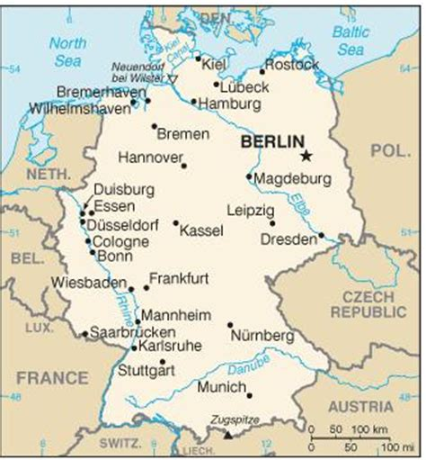 map of german towns german cities and policy mipim world
