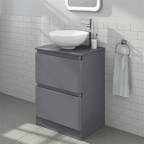 bathroom countertop basin units modern grey bathroom vanity storage unit countertop